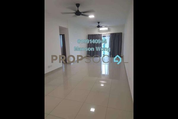 For Rent Condominium at Landmark II, Bandar Sungai Long Freehold Semi Furnished 3R/2B 1.6k