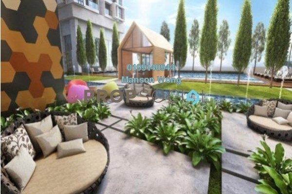 For Sale Condominium at Verando Residence, Petaling Jaya Leasehold Semi Furnished 3R/2B 435k