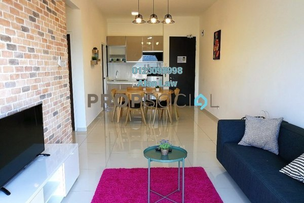 For Rent Serviced Residence at Seasons Garden Residences, Wangsa Maju Freehold Fully Furnished 3R/2B 2.2k