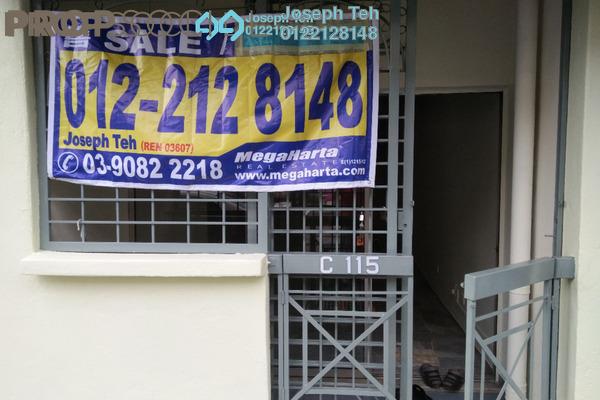 For Sale Apartment at Sri Anggerik 1, Bandar Kinrara Freehold Semi Furnished 3R/2B 320k