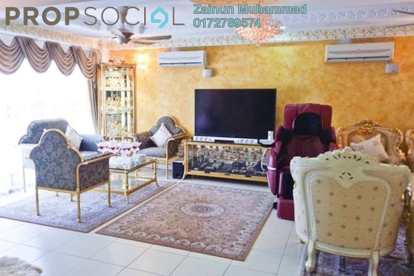 For Sale Apartment at Mesra Villa, Ampang Freehold Semi Furnished 3R/3B 550k