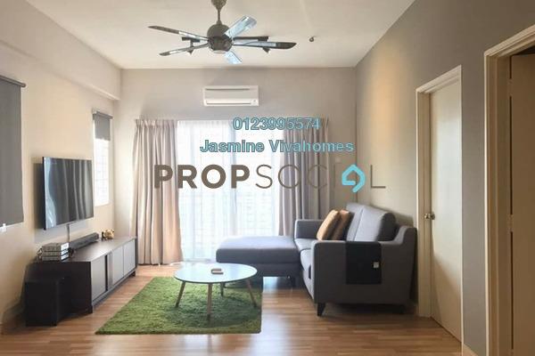 For Sale Condominium at Suria Court, Bandar Mahkota Cheras Freehold Semi Furnished 3R/2B 380k