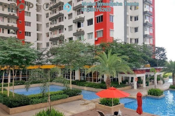 For Rent Condominium at Main Place Residence, UEP Subang Jaya Freehold Semi Furnished 3R/2B 1.7k