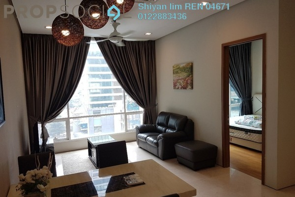 For Rent Condominium at Soho Suites, KLCC Freehold Fully Furnished 2R/1B 3k