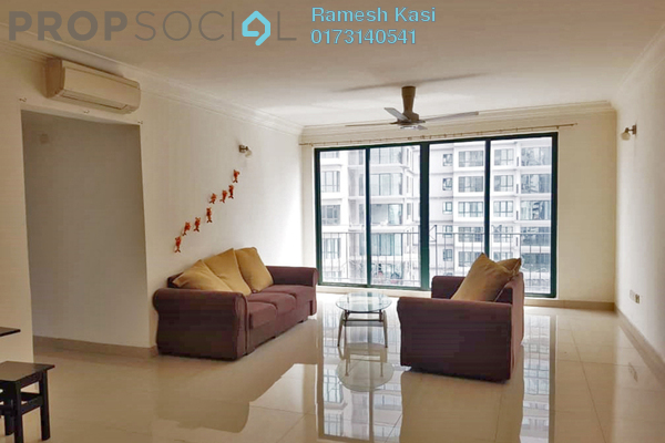 For Rent Condominium at Vista Kiara, Mont Kiara Freehold Semi Furnished 3R/2B 2.4k