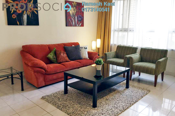 For Rent Condominium at Mont Kiara Pelangi, Mont Kiara Freehold Fully Furnished 3R/2B 3.2k