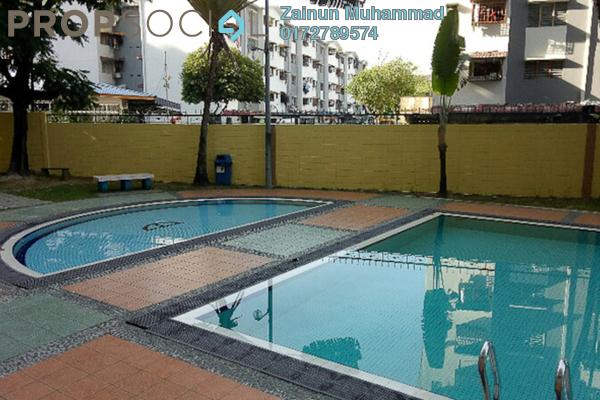 For Sale Condominium at Sri Ampang Mas, Ampang Freehold Semi Furnished 4R/2B 355k