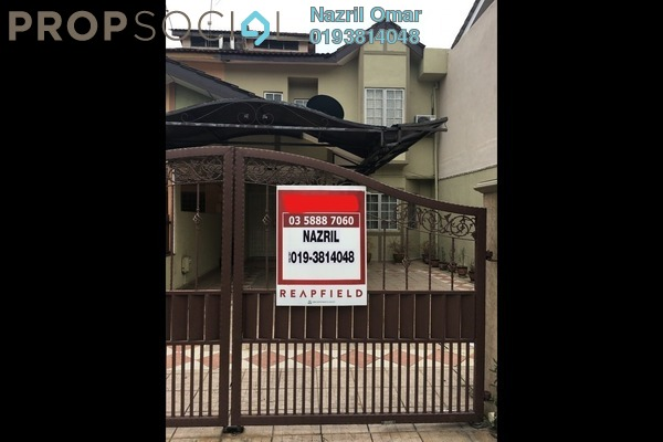 For Sale Terrace at Section 9, Shah Alam Freehold Semi Furnished 4R/3B 680k