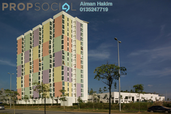 For Rent Condominium at The Domain, Cyberjaya Freehold Fully Furnished 1R/1B 1k