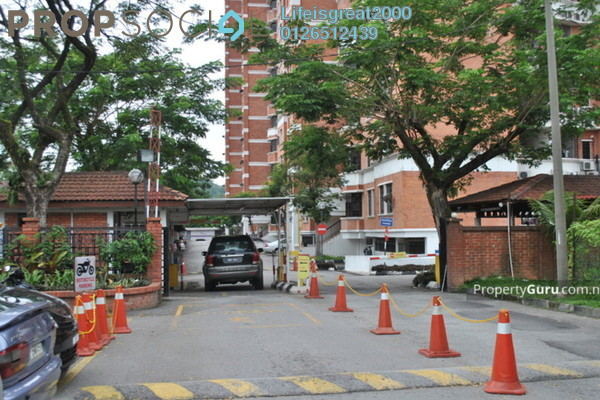 For Rent Condominium at Putra Indah Condominium, Seri Kembangan Freehold Fully Furnished 4R/3B 2k
