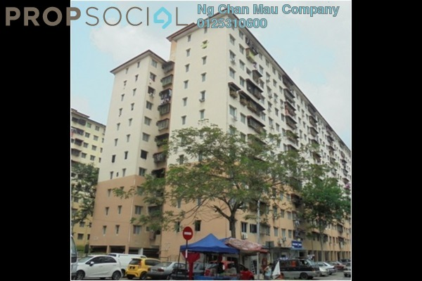 For Sale Apartment at Desa Satu, Kepong Freehold Semi Furnished 0R/0B 117k