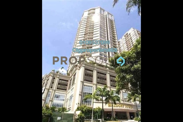 For Sale Serviced Residence at Waldorf Tower, Sri Hartamas Freehold Fully Furnished 5R/4B 2.3m