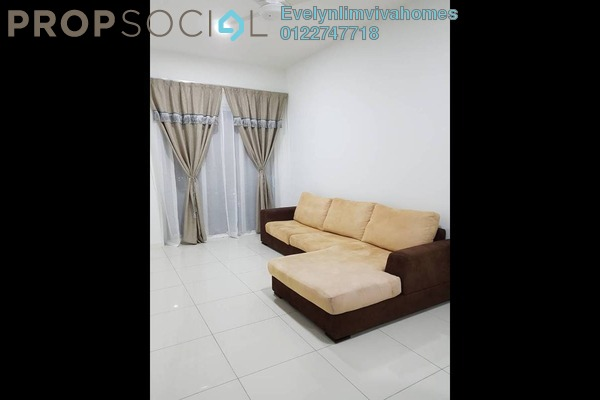 For Rent Condominium at EcoSky, Jalan Ipoh Freehold Semi Furnished 2R/2B 1.6k
