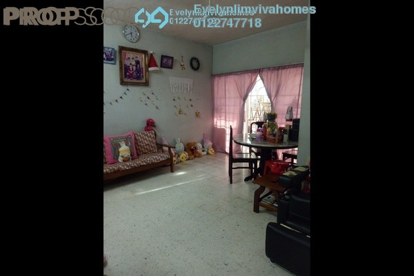 For Sale Terrace at Taman Daya, Kepong Leasehold Semi Furnished 4R/3B 620k