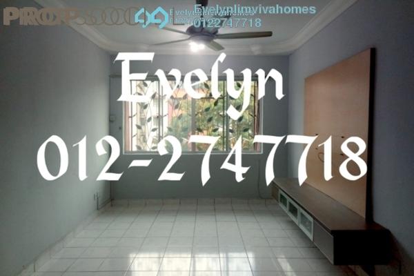 For Sale Condominium at SD Apartment II, Bandar Sri Damansara Freehold Semi Furnished 3R/2B 350k