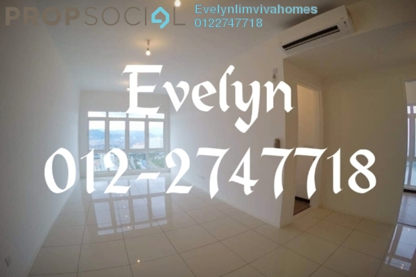 For Rent Condominium at EcoSky, Jalan Ipoh Freehold Semi Furnished 3R/2B 1.8k