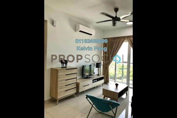 For Rent Condominium at Tropicana Bay Residences, Bayan Indah Freehold Fully Furnished 3R/2B 2k