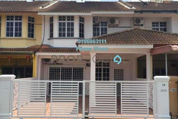 For Sale Semi-Detached at Taman Pulau Gadong, Klebang Freehold Unfurnished 4R/3B 428k
