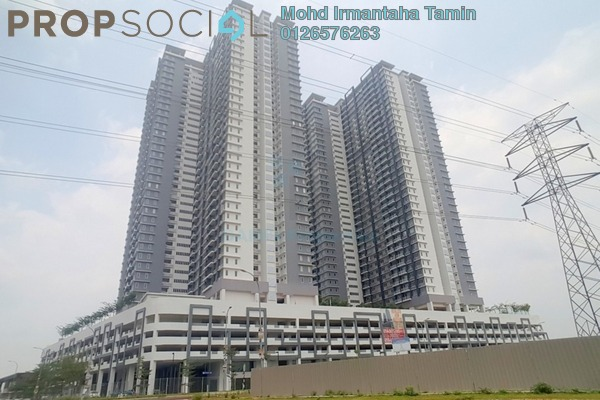 For Rent Condominium at Aurora Residence @ Lake Side City, Puchong Freehold Semi Furnished 3R/2B 1.7k