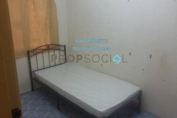For Sale Apartment at Nilam Sari Flat, Shah Alam Freehold Semi Furnished 3R/2B 200k