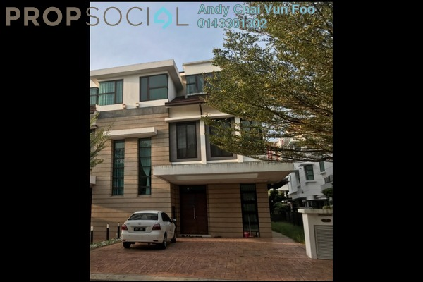 For Sale Semi-Detached at ResTrees, UEP Subang Jaya Freehold Fully Furnished 5R/5B 2.2m