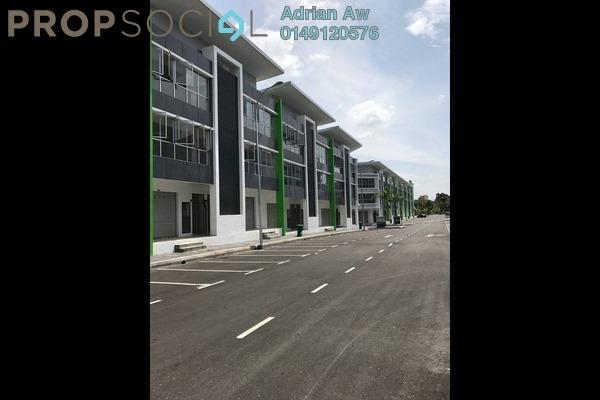 For Rent Shop at Kubica Square, Kajang Freehold Semi Furnished 0R/0B 1.5k