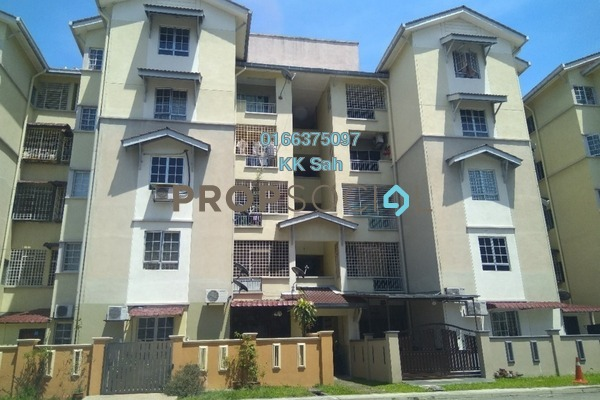 For Sale Apartment at Kasuarina Apartment, Klang Freehold Semi Furnished 3R/2B 280k
