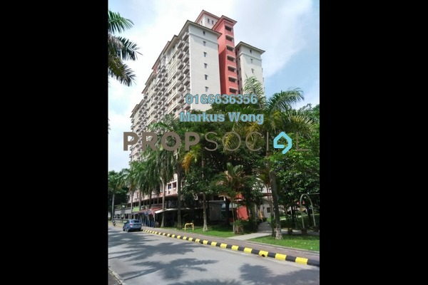 For Rent Apartment at Arena Green, Bukit Jalil Freehold Fully Furnished 2R/2B 1.35k