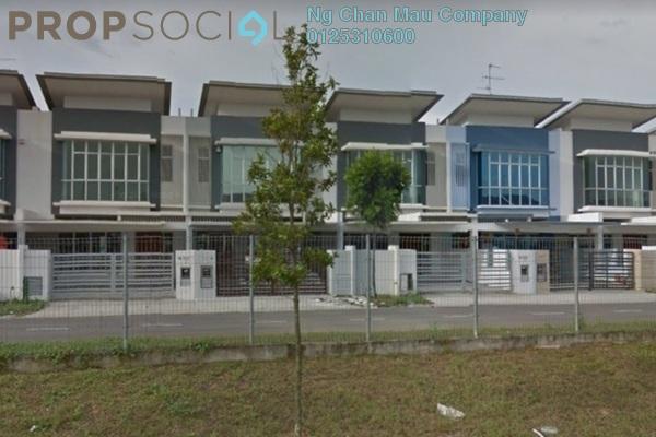 For Sale Terrace at Nusa Sentral, Iskandar Puteri (Nusajaya) Freehold Semi Furnished 0R/0B 770k