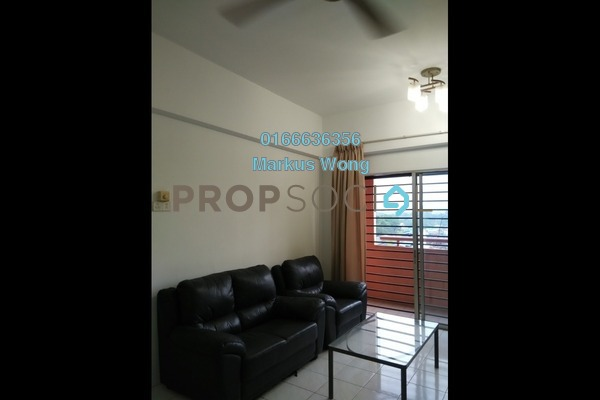 For Rent Apartment at Jalil Damai, Bukit Jalil Freehold Semi Furnished 3R/2B 1.4k