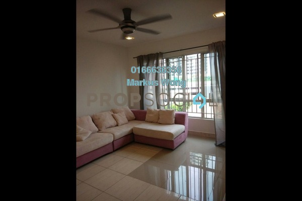 For Rent Condominium at Green Avenue, Bukit Jalil Freehold Fully Furnished 4R/2B 2k
