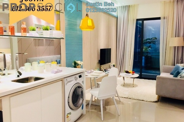 For Sale Apartment at South Link Lifestyle Apartments, Bangsar South Freehold Semi Furnished 1R/1B 350k