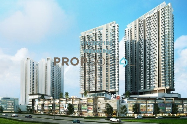 For Sale Condominium at The Link 2 Residences, Bukit Jalil Freehold Unfurnished 2R/1B 550k