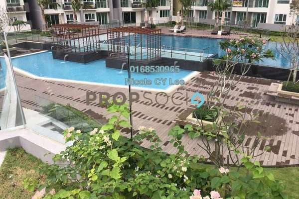 For Sale Condominium at Tropicana Bay Residences, Bayan Indah Freehold Unfurnished 3R/3B 990k
