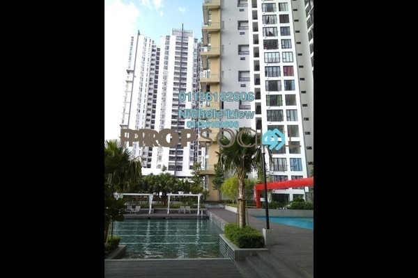 For Sale Condominium at The iResidence, Bandar Mahkota Cheras Freehold Semi Furnished 3R/2B 450k
