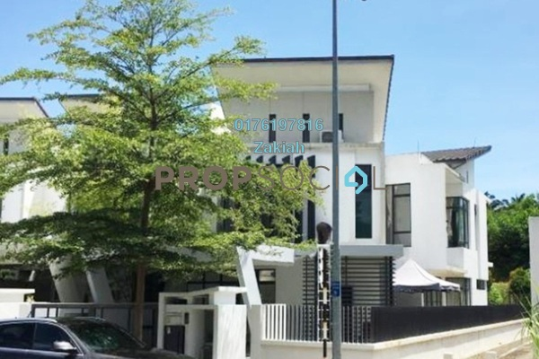 For Sale Terrace at Laman Glenmarie, Saujana Freehold Semi Furnished 4R/4B 1.2m