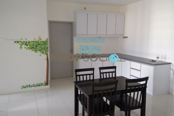 For Rent SoHo/Studio at Paragon, Cyberjaya Freehold Fully Furnished 1R/1B 1.5k