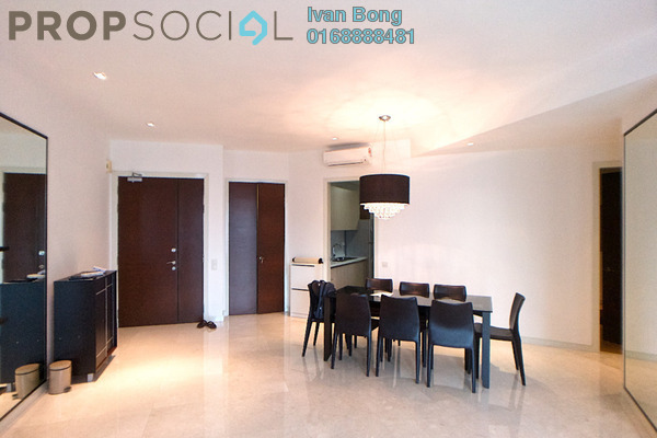 For Rent Condominium at Marc Service Residence, KLCC Freehold Fully Furnished 4R/3B 6k