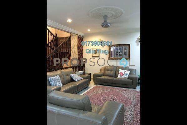 For Sale Terrace at Pinggiran Taman Tun Dr Ismail, TTDI Freehold Semi Furnished 4R/3B 1.85m