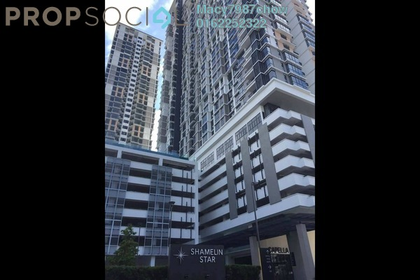 For Sale Condominium at Shamelin Star Serviced Residences, Cheras Freehold Semi Furnished 2R/2B 620k