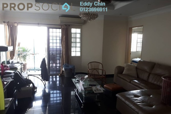 For Sale Condominium at Endah Villa, Sri Petaling Freehold Fully Furnished 3R/2B 518k
