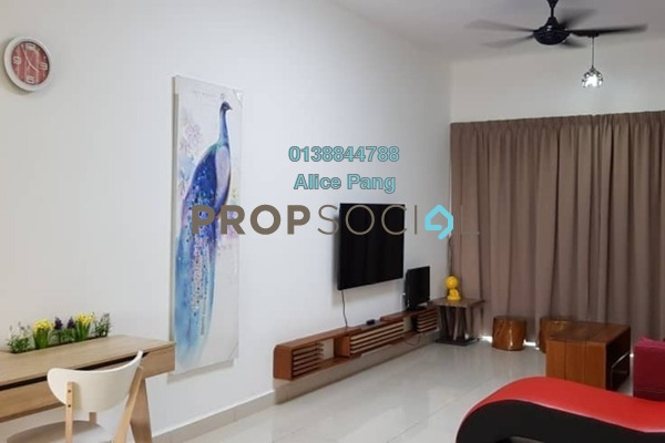 For Rent Condominium at Orchard Ville, Sungai Ara Freehold Fully Furnished 3R/2B 1.7k