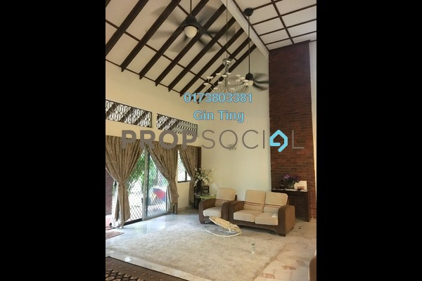 For Sale Bungalow at Zaaba, TTDI Freehold Semi Furnished 4R/4B 6m