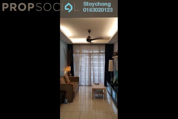 For Rent Condominium at Perdana View, Damansara Perdana Freehold Fully Furnished 3R/2B 2k