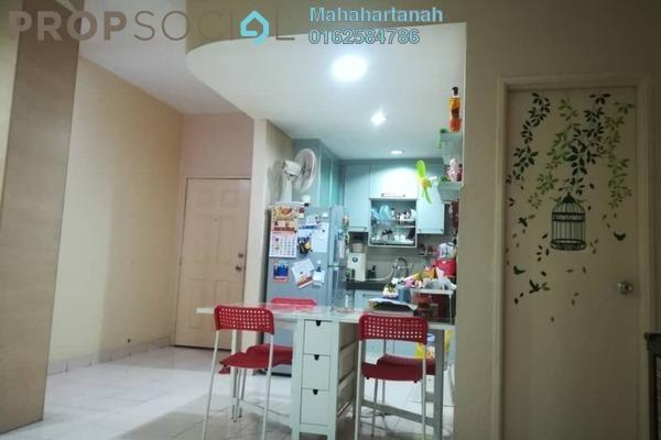 For Sale Apartment at Desa Saujana, Seri Kembangan Freehold Fully Furnished 3R/2B 320k