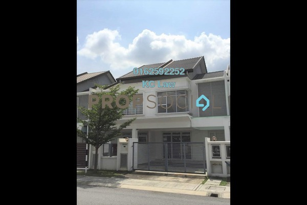 For Rent Terrace at Kemuning Utama Permai, Kemuning Utama Freehold Semi Furnished 4R/4B 1.6k