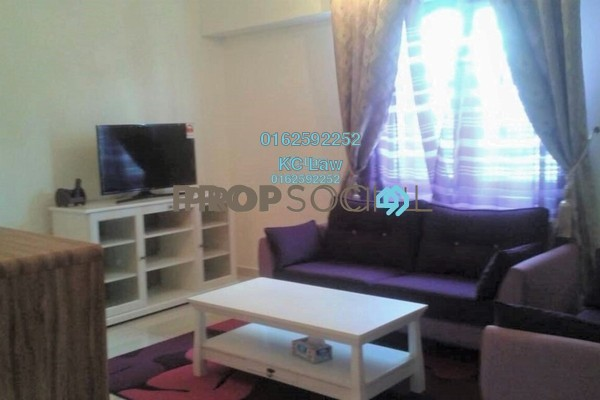 For Rent Condominium at Avenue D'Vogue, Petaling Jaya Freehold Fully Furnished 2R/1B 2.2k