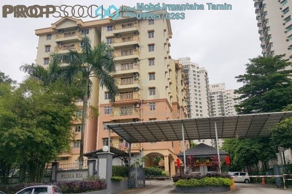 For Sale Condominium at Prima Ria, Dutamas Freehold Semi Furnished 3R/2B 530k