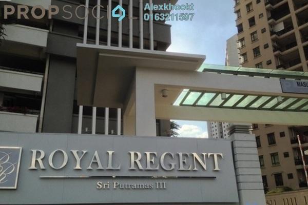 For Sale Condominium at Royal Regent, Dutamas Freehold Semi Furnished 3R/2B 638k