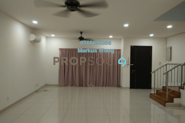 For Rent Terrace at Seri Jalil, Bukit Jalil Freehold Semi Furnished 6R/7B 3.3k